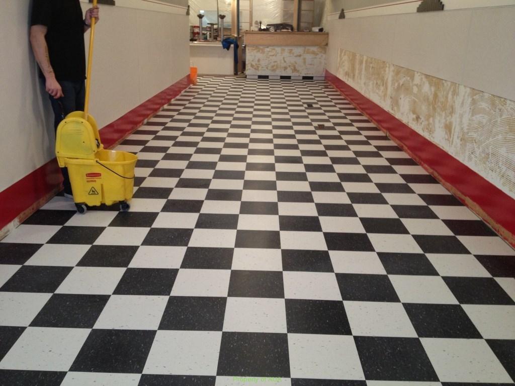 Floor Washed
