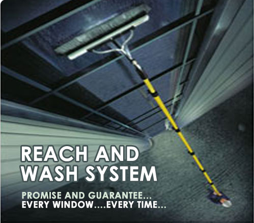 marine window washing system